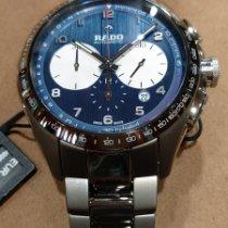 Rado HyperChrome Chronograph Keramik 45mm Blau Arabisch