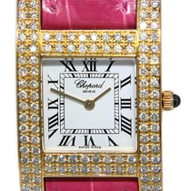 Chopard Your Hour Aur galben 24mm Alb Roman