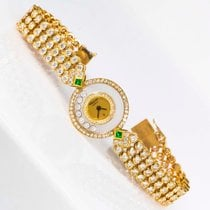Chopard Yellow gold 22mm Quartz Happy Diamonds pre-owned