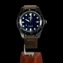 Oris Divers Sixty Five pre-owned 42mm Black Date Leather