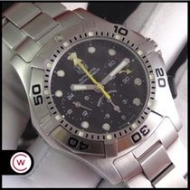 TAG Heuer Aquagraph Steel 43,2mm Black No numerals