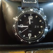 Pacardt Steel 45mm Quartz pre-owned