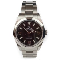 Rolex Explorer Steel 39mm Black Arabic numerals United Kingdom, Swansea