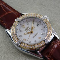 Breitling Callistino Gold/Steel 29mm Mother of pearl
