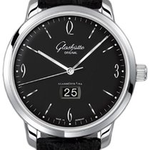 Glashütte Original Sixties Panorama Date new 2019 Automatic Watch with original box and original papers 39-47-03-02-04