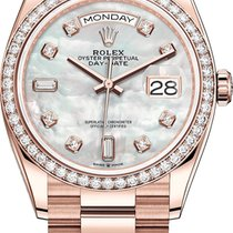Rolex Day-Date 36 Rose gold 36mm Mother of pearl