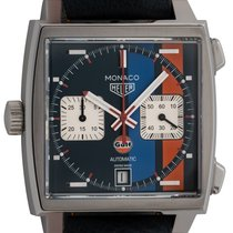 TAG Heuer Monaco Calibre 11 Steel 39mm Blue