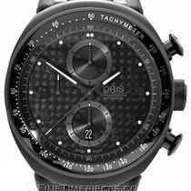 Oris TT3 Titanium 44.5mm Black Arabic numerals