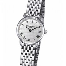 Frederique Constant Slimline Mini new Quartz Watch with original box and original papers FC-200MCS6B