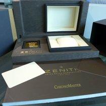 Zenith Chronomaster Open El Primero Box