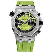 Audemars Piguet Royal Oak Offshore Diver Chronograph Acero 42mm Verde