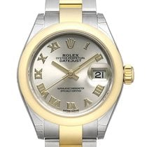 Rolex new Automatic Center Seconds Chronometer Screw-Down Crown 28mm Gold/Steel Sapphire Glass