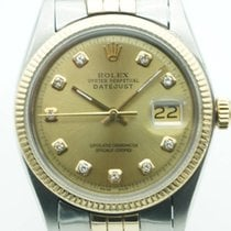 Rolex Datejust 36mm Two Tone Vintage Gold Diamond Dial Jubilee