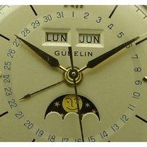 Gübelin Gold/Stahl 37mm Automatik gebraucht