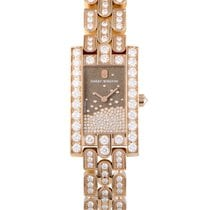 Harry Winston Avenue Diamond Drops Watch AVEQHM21RR121