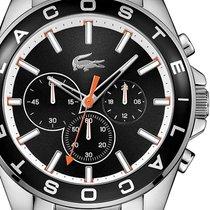Lacoste 2010855 Westport Chronograph schwarz 45mm 5ATM