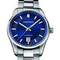 Louis Erard Heritage Sport 40 Automatic Steel Blue Dial