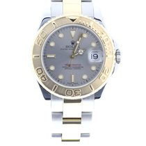 Rolex Oyster Perpetual Yacht-Master 35 Silver dial Bicolor 18kt