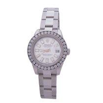Rolex 179160 Datejust 1.60ct Diamond Bezel & Baguette Dial...