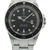 Tudor Mini-Sub 73090 Watch with Stainless Steel Bracelet and...
