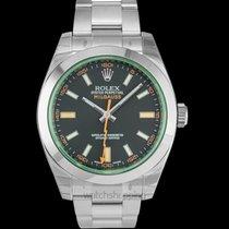 Rolex Milgauss Acero 40mm Negro