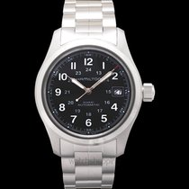 Hamilton Khaki Field Auto 38mm Black Steel - H70455133