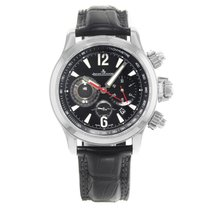Jaeger-LeCoultre Master Compressor Black Dial Steel Automatic...