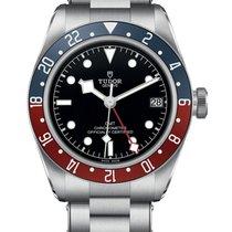 Tudor M79830RB-0001 Staal Black Bay GMT 41mm
