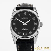 Rolex Cellini Danaos Ladies 18K White Gold Box & Pap