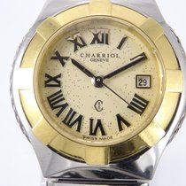 Charriol Celtic Steel 28mm Yellow Roman numerals