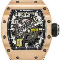 Richard Mille RM 030 tweedehands 50mm Roségoud