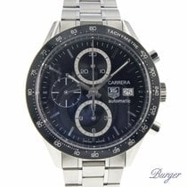 TAG Heuer Carrera Calibre 16 Stål 42mm Svart