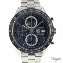TAG Heuer Carrera Calibre 16 Zeljezo 42mm Crn