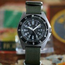 Benrus 39mm Automatik 1973 gebraucht Schwarz