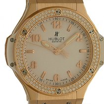 Hublot Roségold Quarz Weiß 38mm neu Big Bang 38 mm