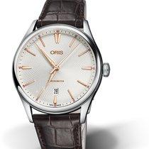 Oris Artelier nuevo Automático Reloj con estuche y documentos originales 01 737 7721 4031-07 5 21 65FC