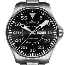 Hamilton Khaki Pilot Day Date H64715135 new