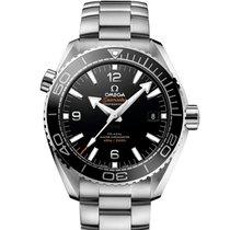 Omega Seamaster Planet Ocean Steel 43.5mm Black Arabic numerals United States of America, New York, New York