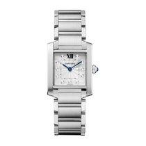 Cartier Tank Française new Quartz Watch with original box and original papers WE110007