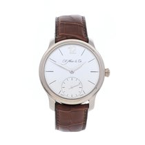 H.Moser & Cie. Oro blanco 38.8mm Cuerda manual 321.503-002 usados