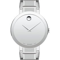 Movado Sapphire Staal 39mm