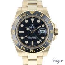 Rolex 116718LN Gelbgold 2008 GMT-Master II 40mm gebraucht
