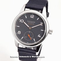 NOMOS Club Neomatik Steel 37mm Blue