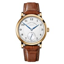 A. Lange & Söhne 1815 Yellow gold 38.5mm Silver United States of America, Florida, Sunny Isles Beach