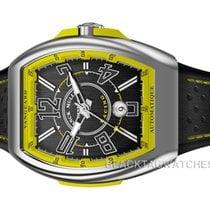 Franck Muller Steel Automatic Black Arabic numerals 45mm new Vanguard