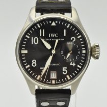 IWC Big Pilot White gold 46mm Grey Arabic numerals United States of America, Texas, Houston