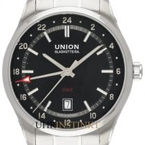 Union Glashütte Belisar GMT Steel 41mm Black