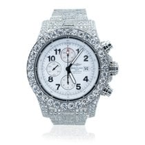 Breitling Super Avenger Steel 48mm White Arabic numerals United States of America, Michigan, Southfield