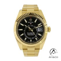 Rolex Sky-Dweller Yellow gold 42mm Black No numerals United States of America, New York, New York