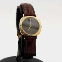 Rolex Cellini Yellow gold 25mm Black No numerals
